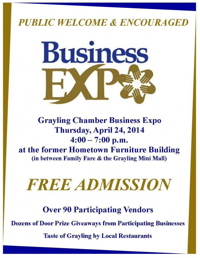 Business Expo Flyer 2014 - PUBLIC (Blue & Gold)