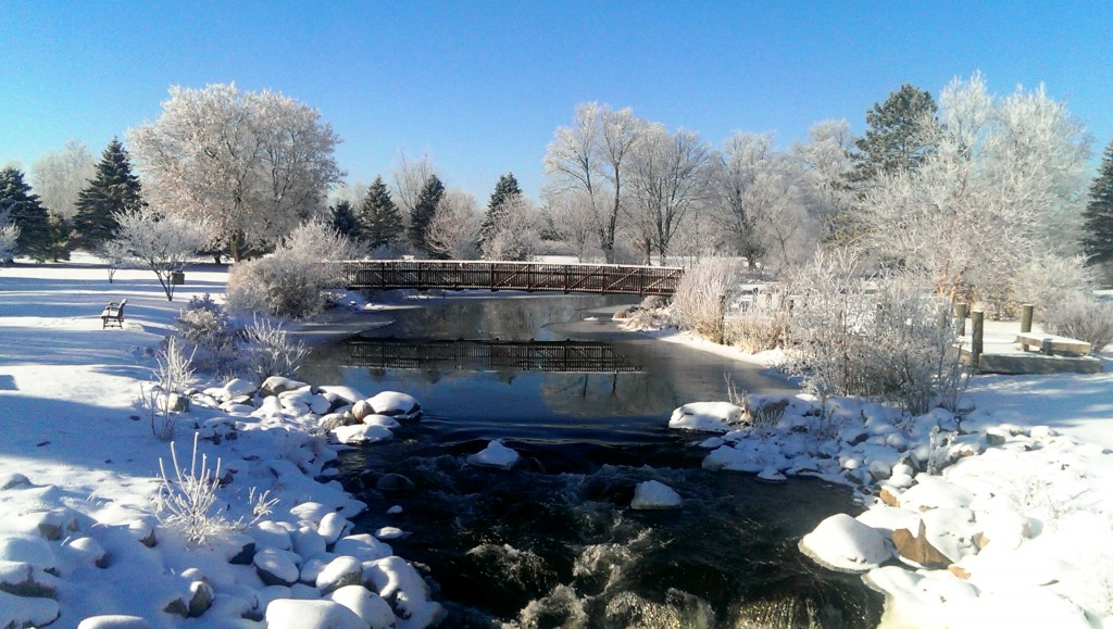 Grayling City Park - Winter 2013